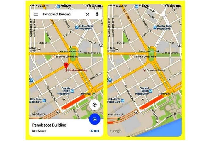 google 01 720x480 - Google Maps para iOS ganha 4 novos recursos