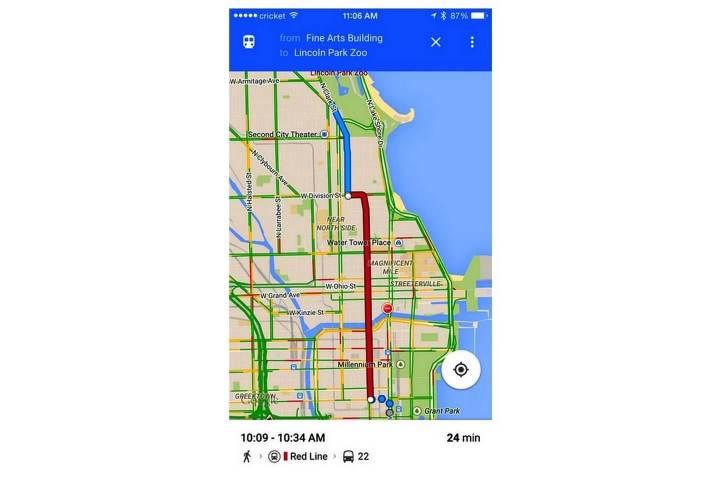 google 03 720x480 - Google Maps para iOS ganha 4 novos recursos