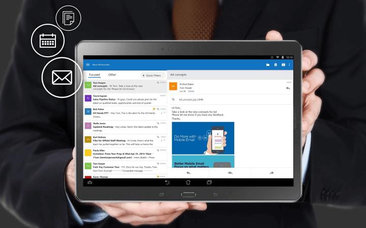 microsoftoutlookpreviewforandroid 720x450 - TOP Apps: os 10 melhores aplicativos do mês (Android)