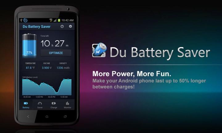 pic du battery saver 720x433 - DU Battery Saver ajuda a gerenciar a bateria do seu dispositivo