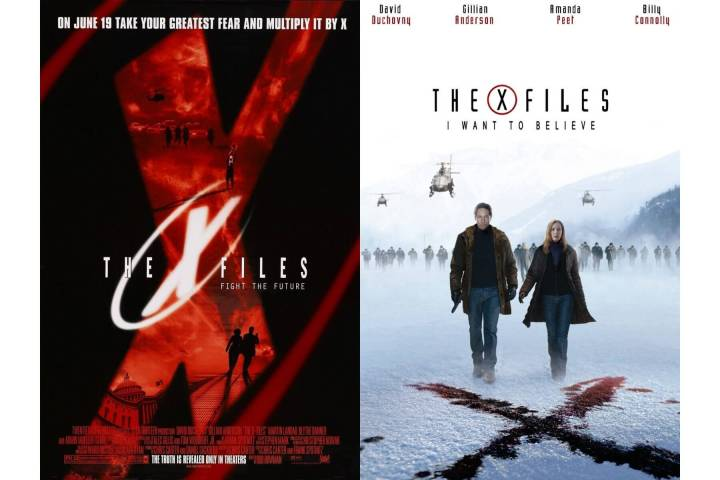 x files movies posters 720x480 - Eu posso acreditar! Confirmada nova temporada de Arquivo X