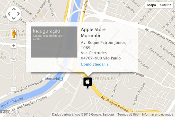 apple store so paulo 2 720x480 - Apple abrirá loja oficial em São Paulo na próxima semana