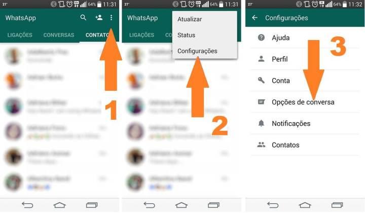 backup whatsapp google drive 1b 720x420 - WhatsApp agora permite fazer backup das conversas no Google Drive