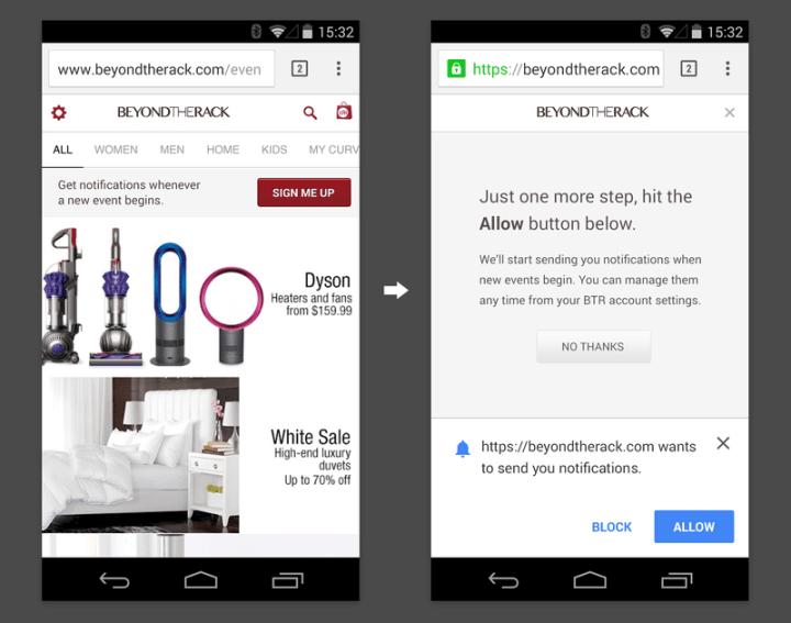 choice homepage  1  0 720x567 - Seus sites favoritos agora podem enviar notificações para o Google Chrome no Android