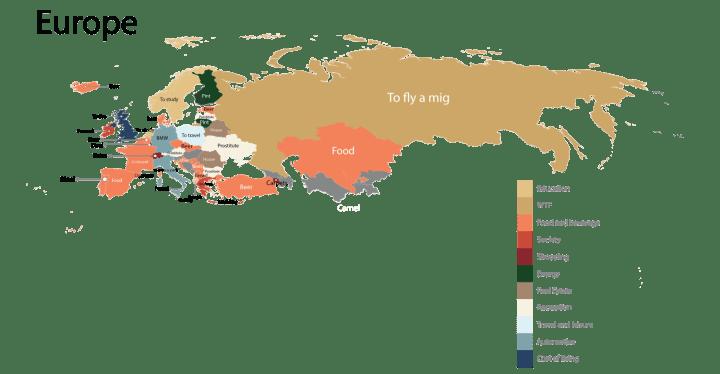 europe 1 1 720x374 - Saiba qual o produto mais pesquisado no Google em cada país