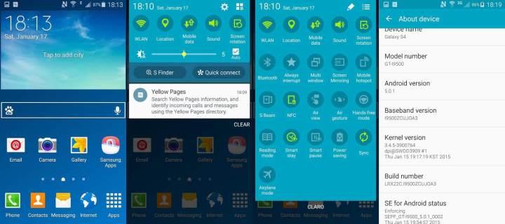 lollipop samsung galaxy s4 720x320 - Doce vida! Galaxy S4 começa a receber atualização para o Lollipop