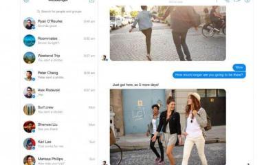 messenger screenshot - Facebook lança Messenger em versão standalone para a Web