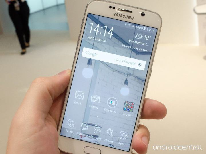 s6 tema 720x540 - Samsung prepara diversos temas para customizar o Galaxy S6