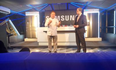 samsung claude troigois - Samsung apresenta duas novas geladeiras premium