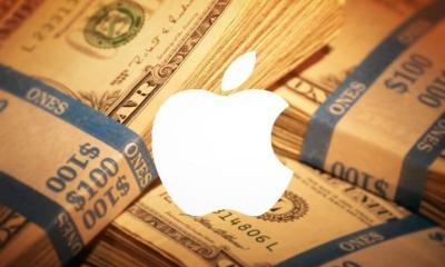 smt apple money white logo - Apple vende mais de 61 milhões de iPhones em 3 meses