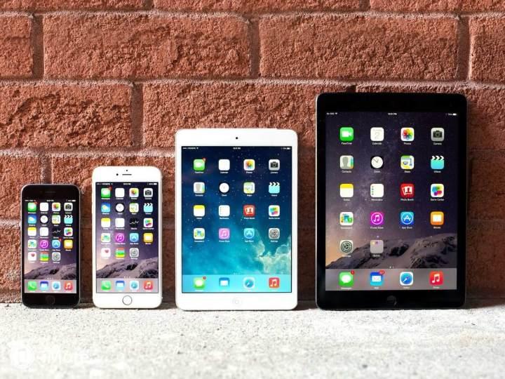 smt iphone 6 iphone 6 plus ipad mini ipad air line front 720x540 - Apple vende mais de 61 milhões de iPhones em 3 meses