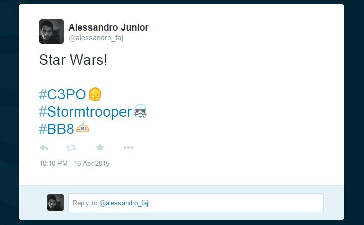 starwars emoji - Twitter lança emojis dos personagens de Star Wars