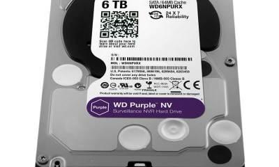 wd6npurx - WD aumenta linha de HDs especiais para vigilância