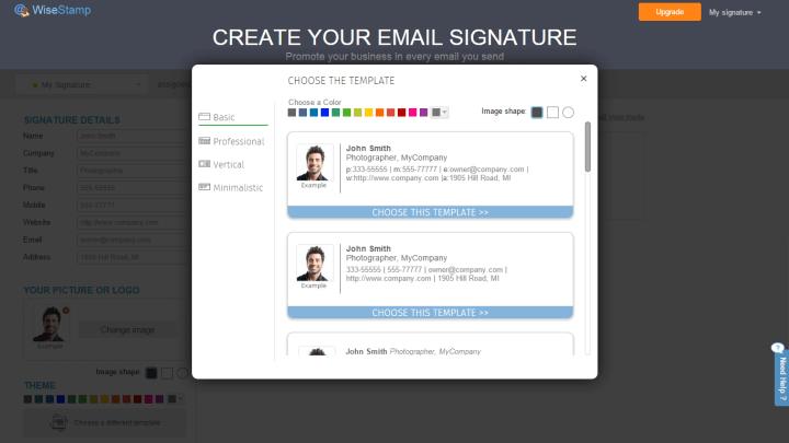 wisestamp 5 720x405 - Tutorial: Aprenda a criar assinaturas de e-mails com o WiseStamp
