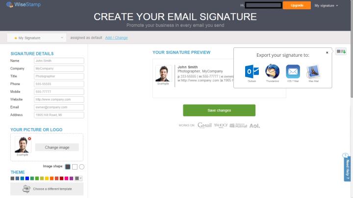 wisestamp 7 720x405 - Tutorial: Aprenda a criar assinaturas de e-mails com o WiseStamp