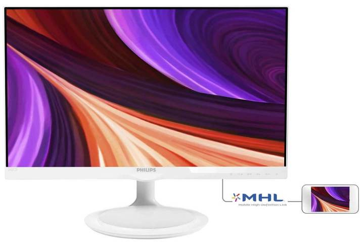 "245c5qhaw 57 ims pt br 720x486 - Review: Monitor LED 23,8"" Philips Full HD Widescreen (245C5QHAW)"