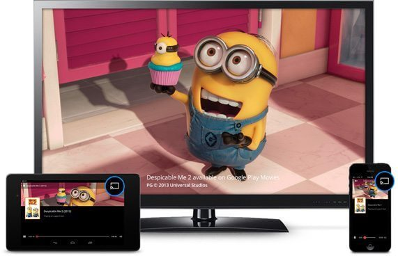 chromecast despicable me - Apple TV vs. Chromecast: procura pelo gadget do Google cresce o dobro em relação à Apple TV