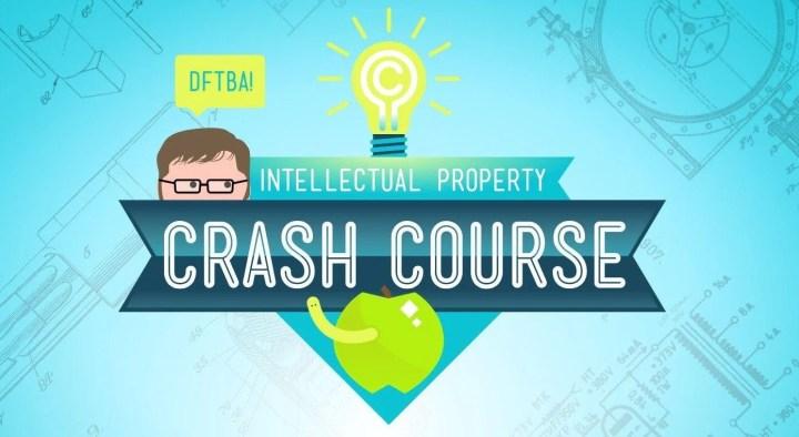 """crashcourse intelectual propriety 720x394 - CrashCourse ensina """"propriedade intelectual"""" e é uma delicia assistir"""