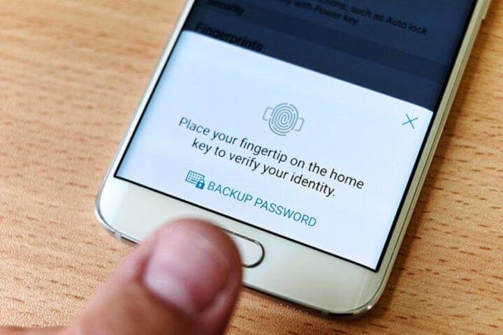 sensor impresso digital galaxy s6 720x480 - Google irá incluir suporte nativo para sensor de impressão digital no Android