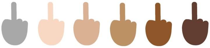 """smt emojis colorfingers 720x166 - Windows 10 renova linha de emojis com novos emoticons e dedo """"mal educado"""""""