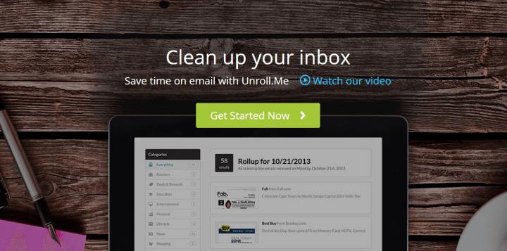 unrollme 720x357 - Unroll.me: cancele newsletters indesejadas de uma só vez