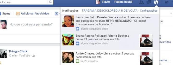 Brasileiros bagunçam Facebook