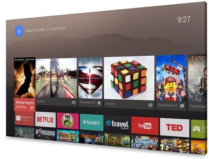 android tv 720x549 - Sony apresenta a primeira linha de Android TVs 4K do Brasil