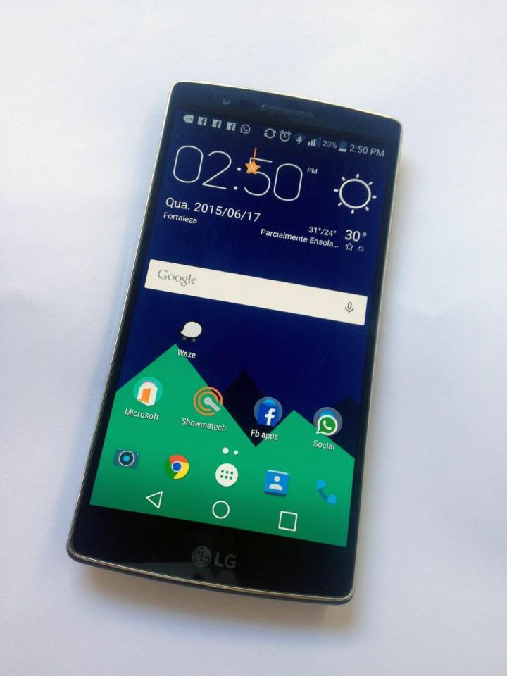 lg g flex 2 com nova launcher 720x960 - Review: LG G Flex 2, o smartphone curvo e potente