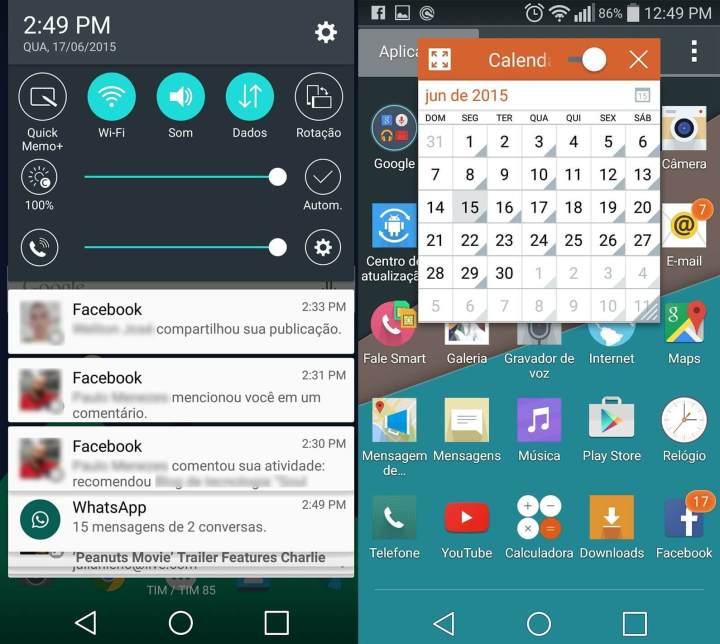 lg g flex 2 qslideshowmetech 720x644 - Review: LG G Flex 2, o smartphone curvo e potente