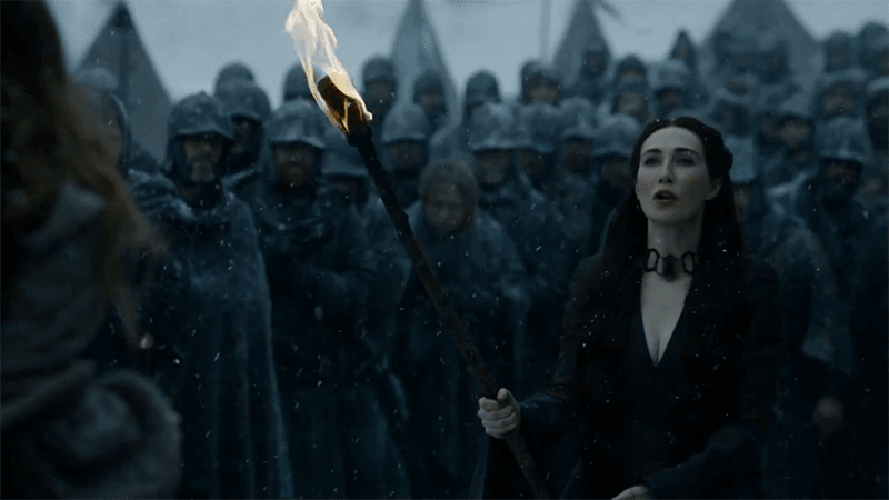melisandre - Game of Thrones 5x09 The Dance of Dragons: Tudo se resolve com fogo