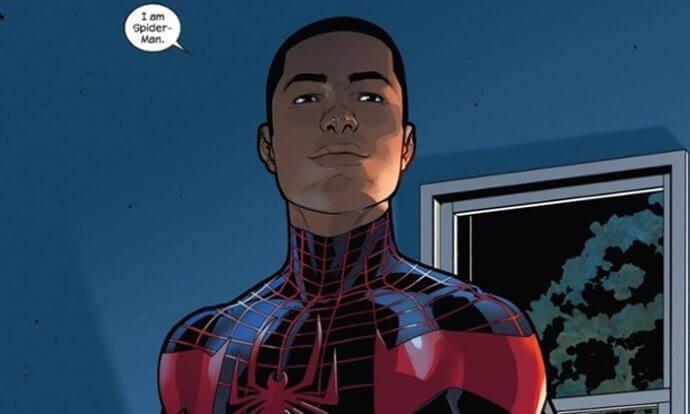 Miles Morales, o Homem-Aranha original das HQ's atualmente