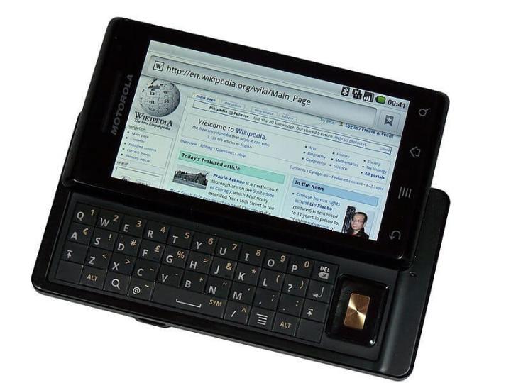 Motorola Milestone (ou Motorola Droid, como ele é conhecido nos Estados Unidos)