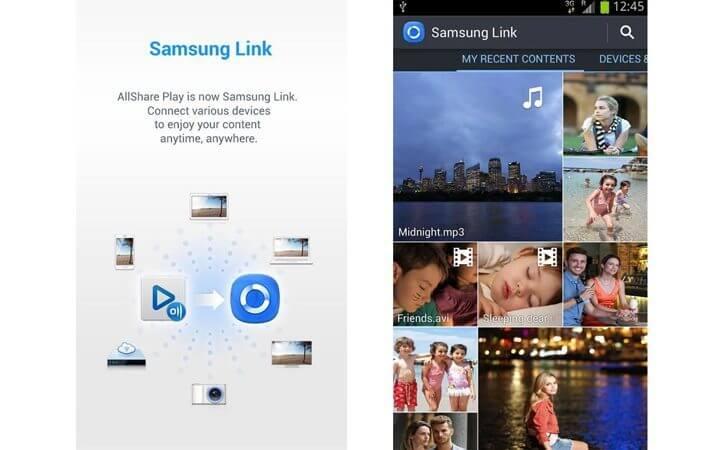 samsung link smartphone 720x450 - Aprenda a usar o Samsung Link: compartilhe arquivos com qualquer celular, PC ou TV