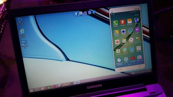 samsung style sidesync1 720x405 - Samsung lança quatro novas linhas de notebooks no Brasil