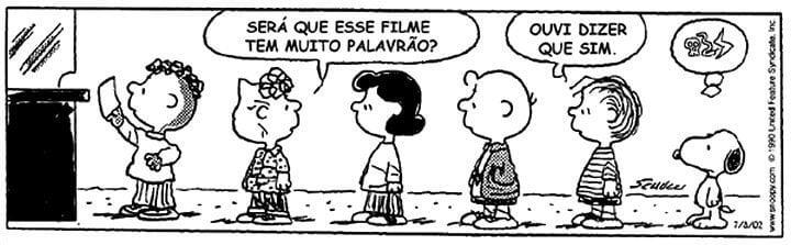 """tirinha 1 720x223 - Confira o novo trailer de """"Snoopy e Charlie Brown: Peanuts, O Filme"""""""