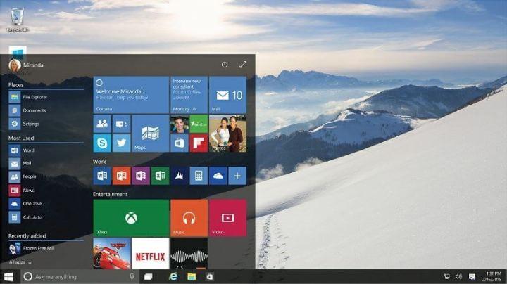 Windows 10: a nova versão contou com o feedback dos usuários para chegar à aparência final