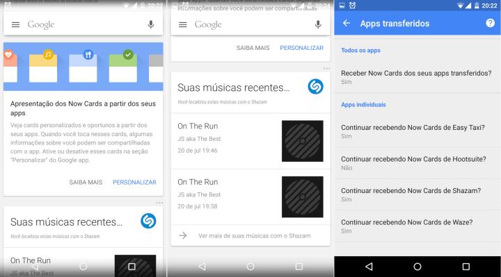 google now e cards de terceiros no brasil 720x399 - Google Now no Brasil agora exibe informações dos apps de terceiros