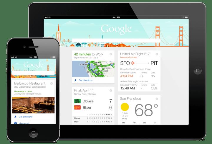 google now ios 720x488 - Agora você pode pedir para o Google Now mandar mensagens pelo WhatsApp, Viber e outros