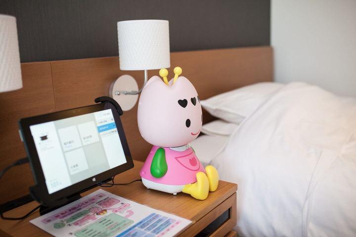 hotel robotuly 720x480 - Henn-na Hotel: o hotel operado por robôs