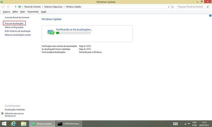 procurar atualizacoes windows8 smt julian 720x432 - Tutorial: Como forçar a atualização do Windows 10