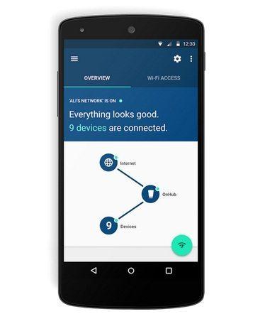 onehub android app google - Google lança o OnHub, seu próprio roteador de Internet