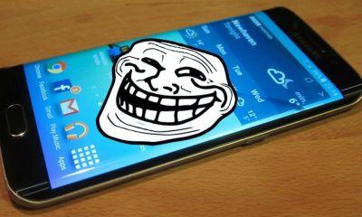 samsung galaxy s6 edge troll - LG da zoeira: empresa está trollando o Samsung Galaxy Edge?