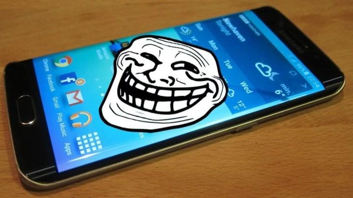 samsung galaxy s6 edge troll 720x404 - LG da zoeira: empresa está trollando o Samsung Galaxy Edge?