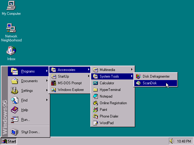 win95startmenu - 20 anos do Windows 95: como ele mudou o mundo