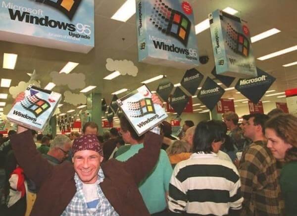 20 anos do Windows 95