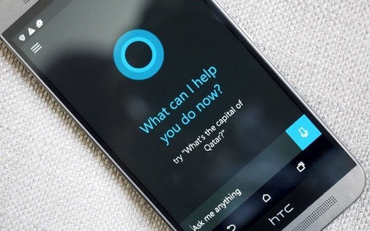 cortana 1 720x450 720x450 - Cyanogen está trabalhando para integrar a Cortana no Android