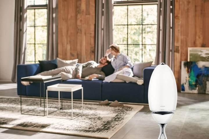 foto01 720x480 - Já ouviu falar de som em 360 graus? Confira o Wireless Audio 360, novo lançamento da Samsung