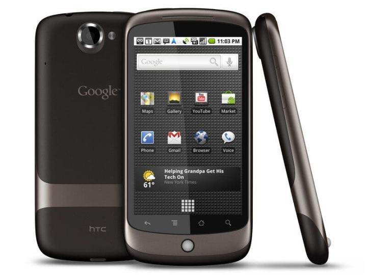 htc nexus one 720x540 - A história dos smartphones Nexus