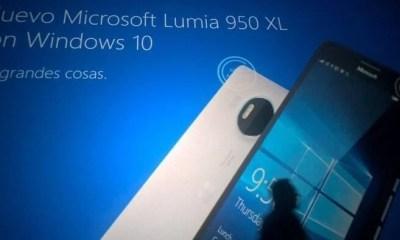 lumia 950 xl1 - Vazam imagens e especificações dos novos Lumia 950 e Lumia 950 XL