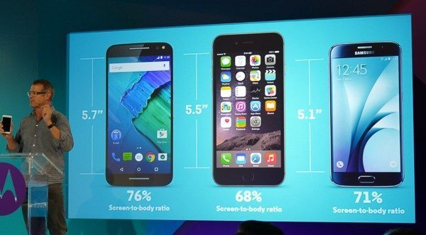 Proporção de tela maior significa melhor proveito da área frontal do smartphone